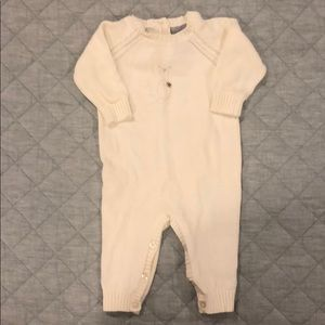 0-3 Tahari Baby sweater playsuit